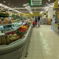 Photo taken at Супермаркет «ХЦ» by Olga L. on 6/1/2013