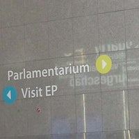 Photo taken at European Parliament Meeting Room JAN 2Q2 by Emeric F. on 3/9/2014