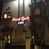 Photo taken at Hard Rock Cafe Mexico City by Eliu I. on 12/22/2012