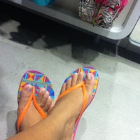 Photo taken at Havaianas by Gabriella A. on 3/23/2013