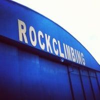Photo taken at Extreme Edge Indoor Rock Climbing by Edrick D. on 3/2/2013