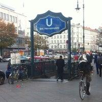 Photo taken at Hermannplatz by Art N. on 10/17/2012