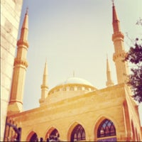 Photo taken at Mohammed Al-Amin Mosque by Ahmed A. on 3/22/2013