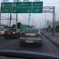 Photo taken at Mueang Min Intersection by Mako J. on 3/5/2013