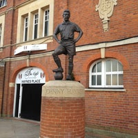 Photo taken at Craven Cottage by Stephen JC on 2/28/2013