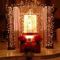 Photo taken at All Saints-St. Anthony Parish by Yoli R. on 12/5/2012