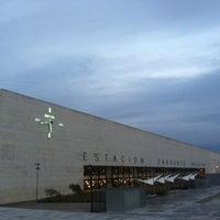 Photo taken at Estación de Zaragoza - Delicias by Cristian S. on 11/26/2012