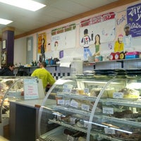 Photo taken at Chutzpah Real New York Deli by James D. on 11/24/2012