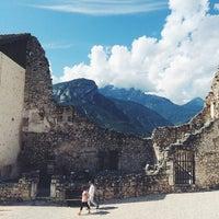 Photo taken at Castel Beseno by Cippi on 8/24/2014