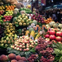 Photo taken at Mercat de Sant Josep - La Boqueria by Mikhail on 4/13/2013