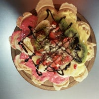 Photo taken at Levent Waffle by Levent Ç. on 2/21/2013