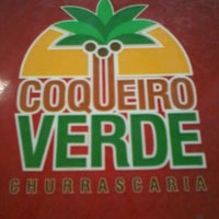 Photo taken at Churrascaria Coqueiro Verde by Geovani F. on 3/17/2013
