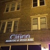 Photo taken at Clifton Martini & Wine Bar by Nikki P. on 6/13/2014