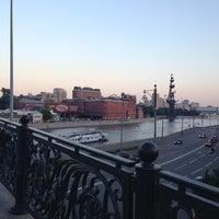 Photo taken at Patriarshiy Bridge by Elena M. on 6/29/2013