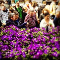 Photo taken at Columbia Road Flower Market by John on 4/14/2013