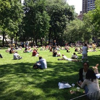 Photo taken at Madison Square Park by Ben Carlos on 6/5/2013