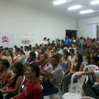 Photo taken at Faculdades INTA by Marcos V. on 10/3/2012