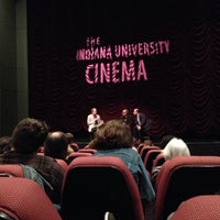 Photo taken at Indiana University Cinema by Qian H. on 4/6/2014