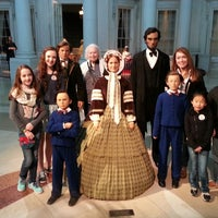 Photo taken at Abraham Lincoln Presidential Museum by Joe M. on 3/19/2014