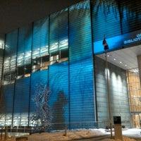 Photo taken at Bibliothèque et Archives nationales du Québec (Grande Bibliothèque) by Fabien D. on 1/24/2013
