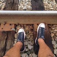 Photo taken at Metra - Forest Glen by nyl r. on 8/24/2014