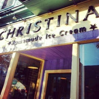 Photo taken at Christina's Homemade Ice Cream by Emily on 10/5/2012
