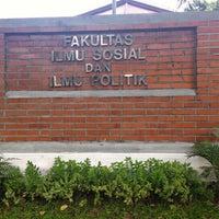 Photo taken at Fakultas Ilmu Sosial dan Ilmu Politik by Lufi H. on 6/4/2016