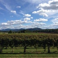 Photo taken at Afton Mountain Vineyards by Jamey B. on 9/29/2013