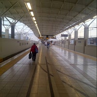 Photo taken at Gautrain Pretoria Station by Riaan O. on 12/14/2012