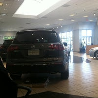 Photo taken at Jay Wolfe Acura by Chad L. on 9/24/2011