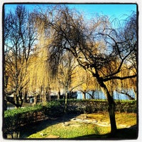 Photo taken at Bords de Seine by Pierre J. on 2/21/2012