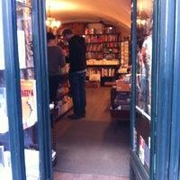 Photo taken at British Bookshop by Alena Y. on 4/25/2012