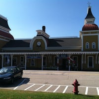 Photo taken at Conway Scenic Railroad by Sharon K. on 10/10/2011