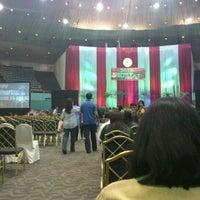 Photo taken at GBI JCC Senayan by Aldrich S. on 1/1/2012