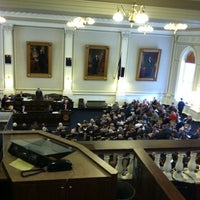 Photo taken at New Hampshire State House by Gordon W. on 3/31/2011