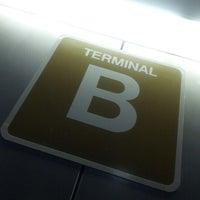Photo taken at Terminal B by Randy on 7/12/2012