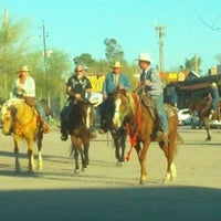 Photo taken at Buffalo Chip Saloon & Steakhouse by Rose B. on 3/23/2012