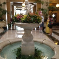 Photo taken at The Davenport Hotel by Mark D. on 8/12/2012