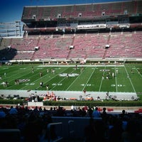 Photo taken at Davis Wade Stadium at Scott Field by Kimberly T. on 10/15/2011
