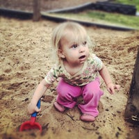 Photo taken at Gulley Park Playground by Caleb C. on 3/10/2012