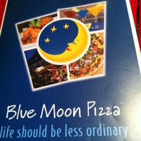 Photo taken at Blue Moon Pizza by Patti M. on 7/19/2012
