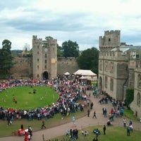 Photo taken at Warwick Castle by Jerry S. on 8/29/2011