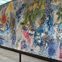 """Photo taken at Chagall Mosaic, """"The Four Seasons"""" by Jason on 11/16/2011"""