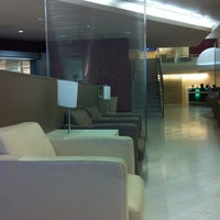 """Photo taken at Alitalia Lounge """"Giotto"""" by Lamine F. on 8/31/2012"""
