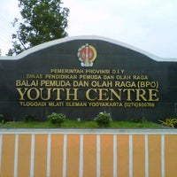 Photo taken at Youth Centre by Marhaendra F. on 7/10/2012