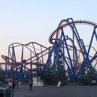 Photo taken at Six Flags Great Adventure by Mario E. on 8/3/2012