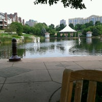 Photo taken at Centennial Lakes Park by Lesley F. on 7/15/2012