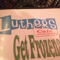 Photo taken at Luther's Cafe by Garry H. on 6/30/2012
