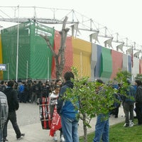 Photo taken at Estadio Bicentenario de La Florida by Sergio M. on 10/7/2011