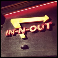 Photo taken at In-N-Out Burger by Kim M. on 7/22/2012